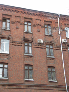 Кирпичный фасад, Кирпичная архитектура, фотографии кирпичрых домов. Архитектор Антон Булатецкий