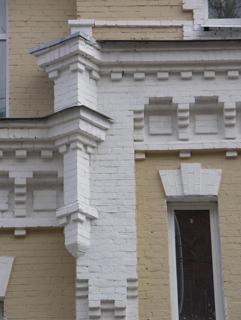 Архитектурный элемент, Кирпичная архитектура, фотографии кирпичрых домов. Архитектор Антон Булатецкий