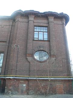 Фасад кипричного здания, Кирпичная архитектура, фотографии кирпичрых домов. Архитектор Антон Булатецкий