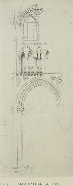 Gothic architecture in france, england, and italy 1915 г. Иллюстрация 94. Готическая архитектура, иллюстрации из 16-и книг, часть 1-я. Архитектор Антон Булатецкий