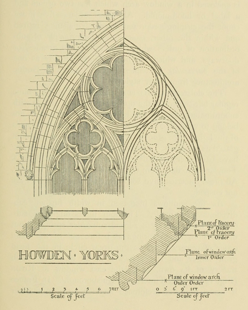 Gothic architecture in france, england, and italy 1915 г. Иллюстрация 193. Готическая архитектура, иллюстрации из 16-и книг, часть 1-я. Архитектор Антон Булатецкий