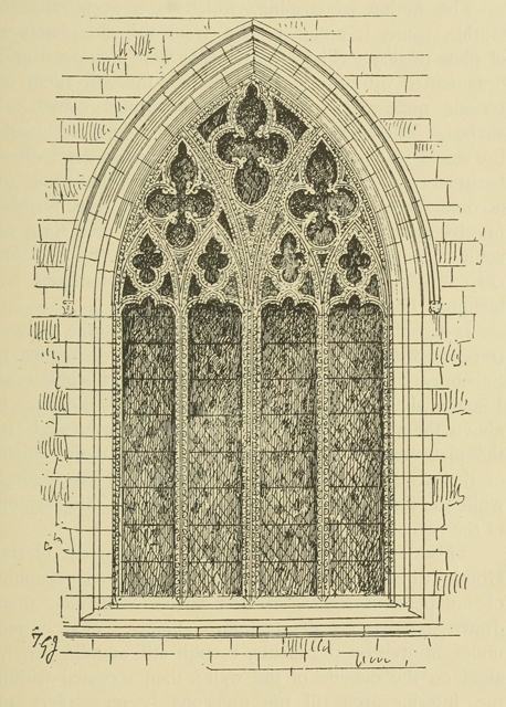Gothic architecture in france, england, and italy 1915 г. Иллюстрация 203. Готическая архитектура, иллюстрации из 16-и книг, часть 1-я. Архитектор Антон Булатецкий