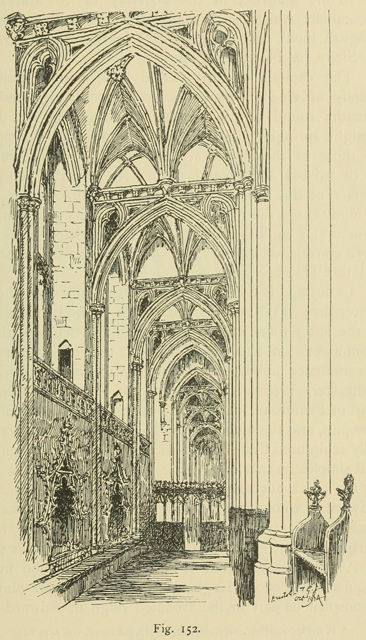Gothic architecture in france, england, and italy 1915 г. Иллюстрация 237. Готическая архитектура, иллюстрации из 16-и книг, часть 1-я. Архитектор Антон Булатецкий