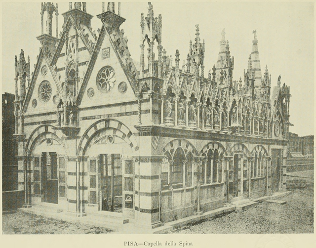 Gothic architecture in france, england, and italy 1915 г. Иллюстрация 335. Готическая архитектура, иллюстрации из 16-и книг, часть 1-я. Архитектор Антон Булатецкий