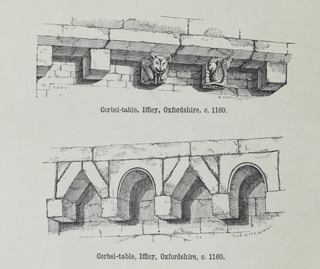 An attempt to discriminate the styles of architecture in England 1881 г. Иллюстрация 26. Готическая архитектура, иллюстрации из 16-и книг, часть 2-я. Архитектор Антон Булатецкий