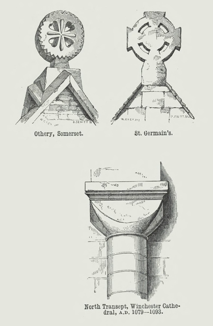An attempt to discriminate the styles of architecture in England 1881 г. Иллюстрация 33. Готическая архитектура, иллюстрации из 16-и книг, часть 2-я. Архитектор Антон Булатецкий