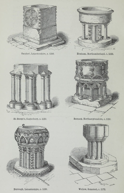 An attempt to discriminate the styles of architecture in England 1881 г. Иллюстрация 107. Готическая архитектура, иллюстрации из 16-и книг, часть 2-я. Архитектор Антон Булатецкий