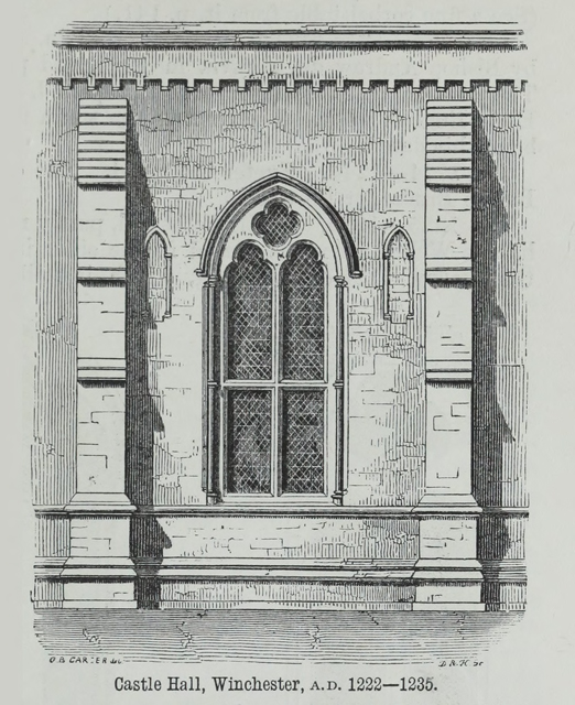 An attempt to discriminate the styles of architecture in England 1881 г. Иллюстрация 115. Готическая архитектура, иллюстрации из 16-и книг, часть 2-я. Архитектор Антон Булатецкий