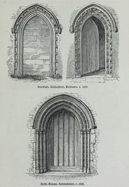 An attempt to discriminate the styles of architecture in England 1881 г. Иллюстрация 118. Готическая архитектура, иллюстрации из 16-и книг, часть 2-я. Архитектор Антон Булатецкий