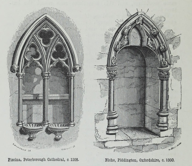An attempt to discriminate the styles of architecture in England 1881 г. Иллюстрация 146. Готическая архитектура, иллюстрации из 16-и книг, часть 2-я. Архитектор Антон Булатецкий