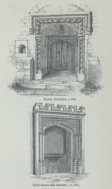 An attempt to discriminate the styles of architecture in England 1881 г. Иллюстрация 191. Готическая архитектура, иллюстрации из 16-и книг, часть 2-я. Архитектор Антон Булатецкий
