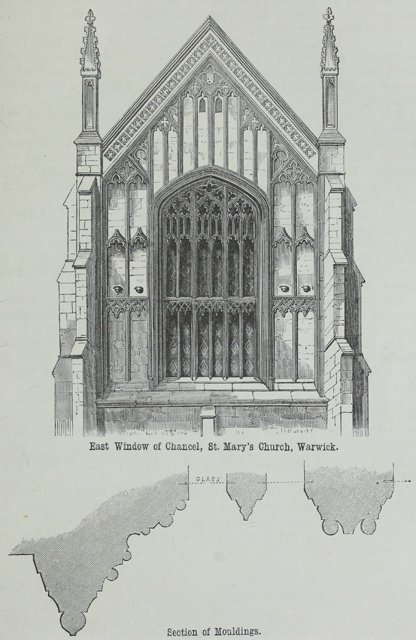 An attempt to discriminate the styles of architecture in England 1881 г. Иллюстрация 226. Готическая архитектура, иллюстрации из 16-и книг, часть 2-я. Архитектор Антон Булатецкий