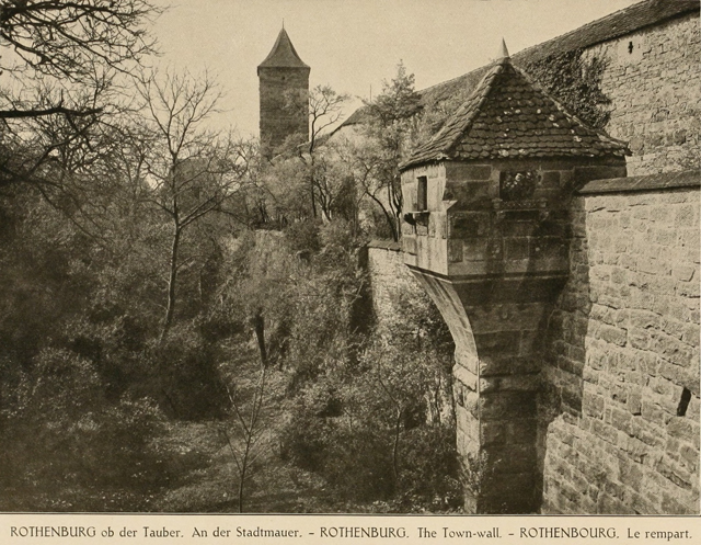German architecture of the middle ages and Renaissance 1920 г. Иллюстрация 98. Готическая архитектура, иллюстрации из 16-и книг, часть 2-я. Архитектор Антон Булатецкий