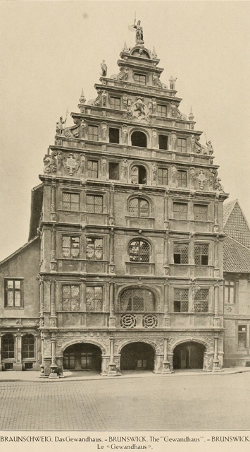 German architecture of the middle ages and Renaissance 1920 г. Иллюстрация 188. Готическая архитектура, иллюстрации из 16-и книг, часть 2-я. Архитектор Антон Булатецкий