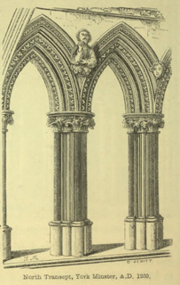 An introduction to the study of Gothic architecture 1849 г. Иллюстрация 42. Готическая архитектура, иллюстрации из 16-и книг, часть 3-я. Архитектор Антон Булатецкий