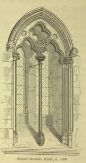 An introduction to the study of Gothic architecture 1849 г. Иллюстрация 56. Готическая архитектура, иллюстрации из 16-и книг, часть 3-я. Архитектор Антон Булатецкий