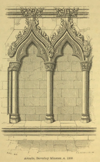 An introduction to the study of Gothic architecture 1849 г. Иллюстрация 80. Готическая архитектура, иллюстрации из 16-и книг, часть 3-я. Архитектор Антон Булатецкий