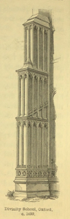An introduction to the study of Gothic architecture 1849 г. Иллюстрация 89. Готическая архитектура, иллюстрации из 16-и книг, часть 3-я. Архитектор Антон Булатецкий