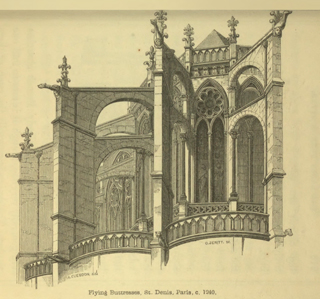 An introduction to the study of Gothic architecture 1849 г. Иллюстрация 98. Готическая архитектура, иллюстрации из 16-и книг, часть 3-я. Архитектор Антон Булатецкий