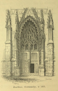 An introduction to the study of Gothic architecture 1849 г. Иллюстрация 101. Готическая архитектура, иллюстрации из 16-и книг, часть 3-я. Архитектор Антон Булатецкий