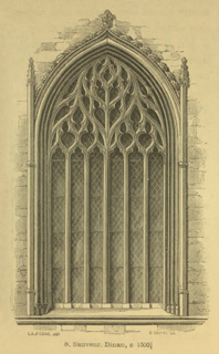 An introduction to the study of Gothic architecture 1849 г. Иллюстрация 102. Готическая архитектура, иллюстрации из 16-и книг, часть 3-я. Архитектор Антон Булатецкий