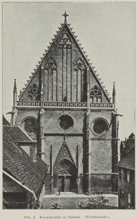 Late Gothic and Renaissance contribution to the history of German Architecture 1899 г. Иллюстрация 3. Готическая архитектура, иллюстрации из 16-и книг, часть 3-я. Архитектор Антон Булатецкий