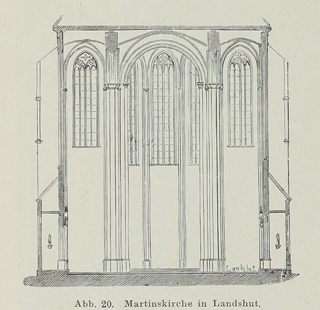Late Gothic and Renaissance contribution to the history of German Architecture 1899 г. Иллюстрация 21. Готическая архитектура, иллюстрации из 16-и книг, часть 3-я. Архитектор Антон Булатецкий