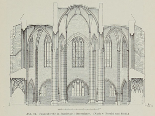 Late Gothic and Renaissance contribution to the history of German Architecture 1899 г. Иллюстрация 25. Готическая архитектура, иллюстрации из 16-и книг, часть 3-я. Архитектор Антон Булатецкий