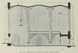 Late Gothic and Renaissance contribution to the history of German Architecture 1899 г. Иллюстрация 44. Готическая архитектура, иллюстрации из 16-и книг, часть 3-я. Архитектор Антон Булатецкий