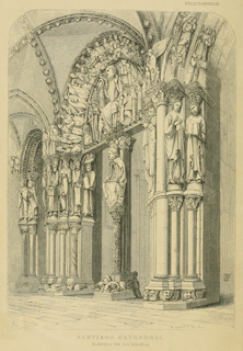 Some account of gothic architecture in Spain 1865 г. Иллюстрация 1. Готическая архитектура, иллюстрации из 16-и книг, часть 3-я. Архитектор Антон Булатецкий