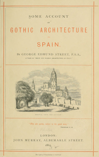Some account of gothic architecture in Spain 1865 г. Иллюстрация 2. Готическая архитектура, иллюстрации из 16-и книг, часть 3-я. Архитектор Антон Булатецкий