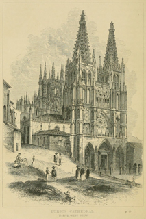 Some account of gothic architecture in Spain 1865 г. Иллюстрация 4. Готическая архитектура, иллюстрации из 16-и книг, часть 3-я. Архитектор Антон Булатецкий