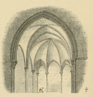 Some account of gothic architecture in Spain 1865 г. Иллюстрация 10. Готическая архитектура, иллюстрации из 16-и книг, часть 3-я. Архитектор Антон Булатецкий