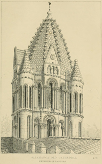Some account of gothic architecture in Spain 1865 г. Иллюстрация 21. Готическая архитектура, иллюстрации из 16-и книг, часть 3-я. Архитектор Антон Булатецкий
