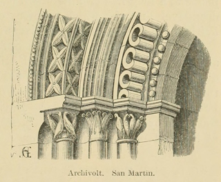 Some account of gothic architecture in Spain 1865 г. Иллюстрация 23. Готическая архитектура, иллюстрации из 16-и книг, часть 3-я. Архитектор Антон Булатецкий