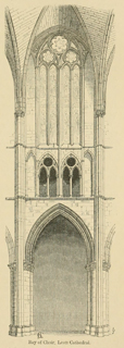 Some account of gothic architecture in Spain 1865 г. Иллюстрация 32. Готическая архитектура, иллюстрации из 16-и книг, часть 3-я. Архитектор Антон Булатецкий