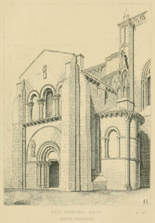 Some account of gothic architecture in Spain 1865 г. Иллюстрация 34. Готическая архитектура, иллюстрации из 16-и книг, часть 3-я. Архитектор Антон Булатецкий