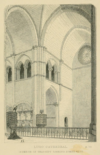 Some account of gothic architecture in Spain 1865 г. Иллюстрация 37. Готическая архитектура, иллюстрации из 16-и книг, часть 3-я. Архитектор Антон Булатецкий