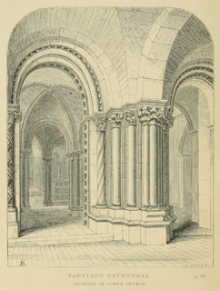 Some account of gothic architecture in Spain 1865 г. Иллюстрация 42. Готическая архитектура, иллюстрации из 16-и книг, часть 3-я. Архитектор Антон Булатецкий