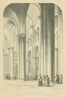 Some account of gothic architecture in Spain 1865 г. Иллюстрация 45. Готическая архитектура, иллюстрации из 16-и книг, часть 3-я. Архитектор Антон Булатецкий