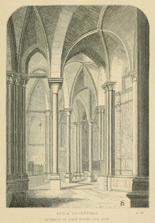 Some account of gothic architecture in Spain 1865 г. Иллюстрация 50. Готическая архитектура, иллюстрации из 16-и книг, часть 3-я. Архитектор Антон Булатецкий
