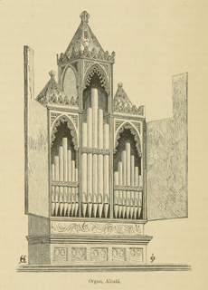 Some account of gothic architecture in Spain 1865 г. Иллюстрация 62. Готическая архитектура, иллюстрации из 16-и книг, часть 3-я. Архитектор Антон Булатецкий