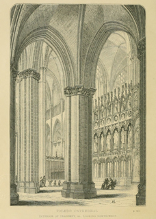 Some account of gothic architecture in Spain 1865 г. Иллюстрация 74. Готическая архитектура, иллюстрации из 16-и книг, часть 3-я. Архитектор Антон Булатецкий