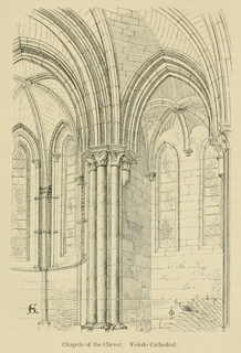 Some account of gothic architecture in Spain 1865 г. Иллюстрация 76. Готическая архитектура, иллюстрации из 16-и книг, часть 3-я. Архитектор Антон Булатецкий