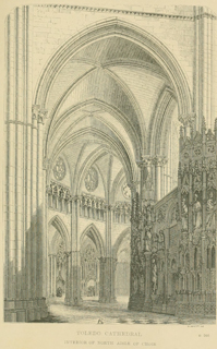 Some account of gothic architecture in Spain 1865 г. Иллюстрация 77. Готическая архитектура, иллюстрации из 16-и книг, часть 3-я. Архитектор Антон Булатецкий