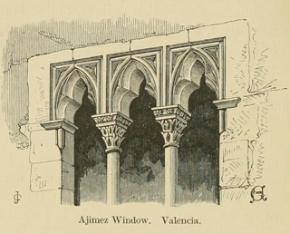 Some account of gothic architecture in Spain 1865 г. Иллюстрация 82. Готическая архитектура, иллюстрации из 16-и книг, часть 3-я. Архитектор Антон Булатецкий