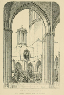 Some account of gothic architecture in Spain 1865 г. Иллюстрация 92. Готическая архитектура, иллюстрации из 16-и книг, часть 3-я. Архитектор Антон Булатецкий