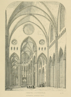 Some account of gothic architecture in Spain 1865 г. Иллюстрация 99. Готическая архитектура, иллюстрации из 16-и книг, часть 3-я. Архитектор Антон Булатецкий