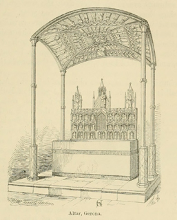 Some account of gothic architecture in Spain 1865 г. Иллюстрация 100. Готическая архитектура, иллюстрации из 16-и книг, часть 3-я. Архитектор Антон Булатецкий