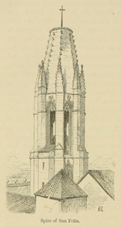 Some account of gothic architecture in Spain 1865 г. Иллюстрация 103. Готическая архитектура, иллюстрации из 16-и книг, часть 3-я. Архитектор Антон Булатецкий